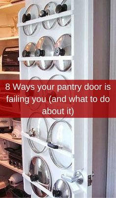 8 Ways Your Pantry Door Is Failing You (And What To Do About It