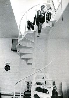 John & Yoko up there