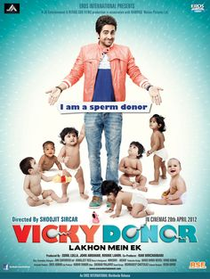 Vicky Donor Poster Hindi Movie Song Songs Film Art Movies