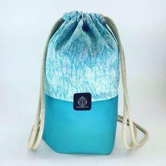 Konoa Bag - 2016    eco-leather and fabric, handmade 26cm*36,5cm
