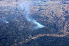 Another view from space of the Texas wildfire in Harrison County, 9/6/11.