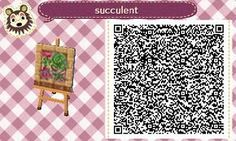 Animal Crossing: New Leaf QR Code Paths Pattern, pale-chub: I REACHED 100+ FOLLOWERS TODAY! So a...