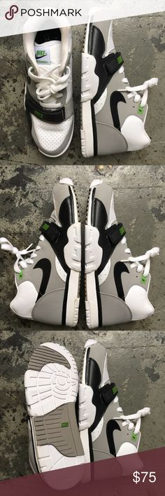Nike Chlorophyll Air Trainer 1 OG Brand New and never worn OG Color way of  the Chlorophyll Air Trainer 1 worm by the legendary Bo Jackson! e9e27036f