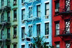 Façade New Yorkaise | Zolpan Intensément Couleurs