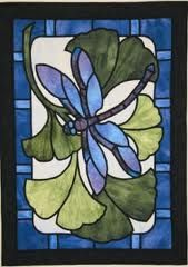 stained glass quilt patterns - Google Search