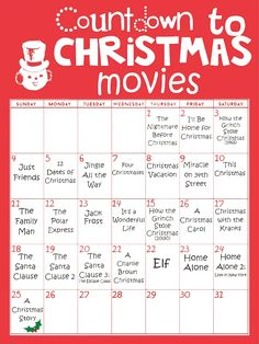 Peppermintheart: Countdown to Christmas Movies
