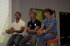 06/09/2012 - Serata con Pierpaolo Frattini, Elia Luini e Sara Bertolasi, campioni del canottaggio italiano.