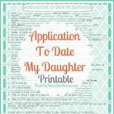 Read the link it's great   http://themushymommy.blogspot.com/2013/04/10-rules-for-dating-my-daughter.html?m=1