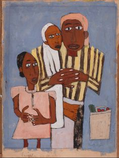 Fright by William H. Johnson