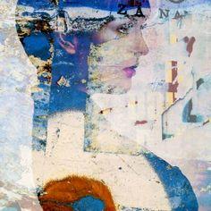 "Saatchi Art Artist Karin Vermeer; Painting, ""Profile"" #art"