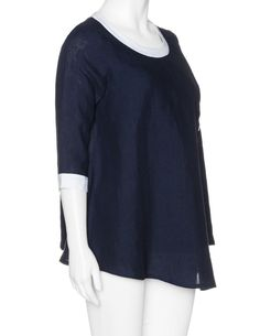 blouses-isolde-roth-double-layered-linen-top-dark-blue-white_A20965_F0728.jpg (900×1164)
