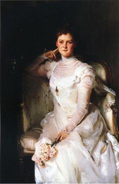 The Athenaeum - Mrs. Joshua Montgomery Sears (John Singer Sargent - )