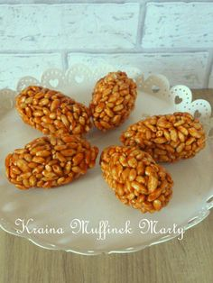 Polish Recipes, Polish Food, Party Time, Almond, Cereal, Recipies, Beans, Yummy Food, Sweets