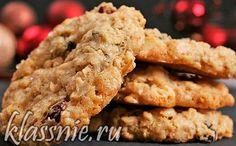 Веганское овсяное печенье с бананом и яблоком | Классные вегетарианские рецепты