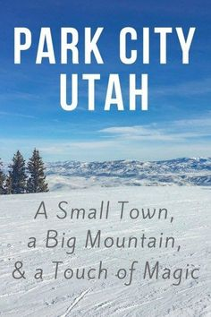 The small, colorful town of Park City, Utah is doing big things. Find out why my winter trip to Park City exceeded my expectations! http://www.littlethingstravel.com