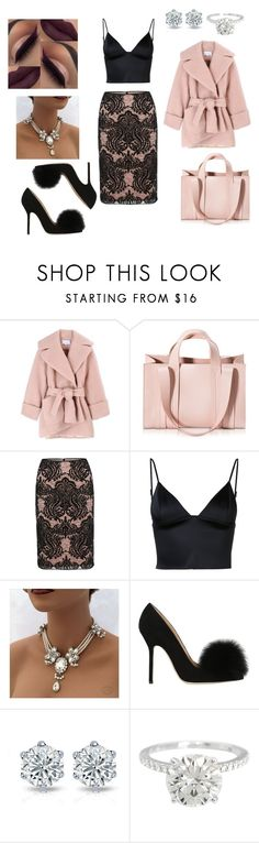 """""""elegant outfit"""" by kaja-232 ❤ liked on Polyvore featuring Carven, Corto Moltedo, Gina Bacconi, T By Alexander Wang and Racine Carrée"""