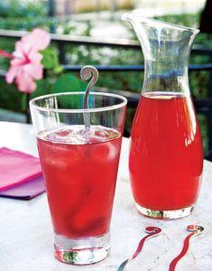 Chá de mate, hibisco e limão / DIY, Drink