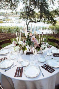 candelabra centerpiece | Clay Austin #wedding