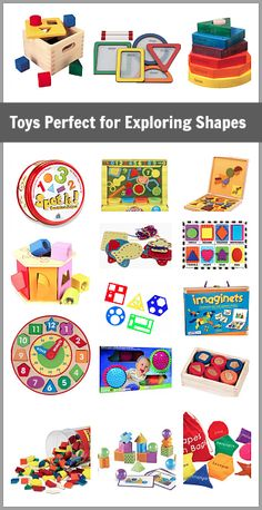 Great way to build math skills through play! (Toys Perfect for Exploring Shapes)~ BuggyandBuddy.com