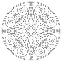 Difficult Level Mandala Coloring Pages | 500 x 500 · 166 kB · jpeg