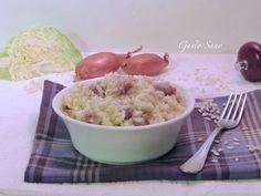 Ricetta: Risotto salsiccia e verza