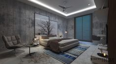 """Check out this @Behance project: """"DAUGHTER BEDROOM""""…"""