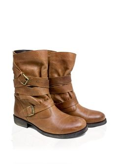 Cool leather boots