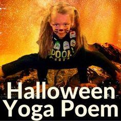 Halloween Poem for Young Yogis - Kids Yoga Stories Kids Yoga Poses, Yoga For Kids, Halloween Poems, Halloween Party, Halloween Week, Toddler Halloween, Halloween Activities, Preschool Yoga, Toddler Yoga