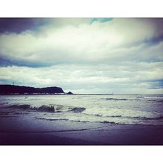 【akane.0309】さんのInstagramをピンしています。 《2016/10/9  オホーツク海…  #海 #オホーツク海 #雲 #曇り空 #妥協と諦め #仕方ない #北海道 #景色 #hokkaido #sea》