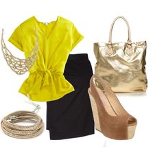 Bold Summer Work Look, created by k-loos on #Polyvore #clothes #dreamcloset