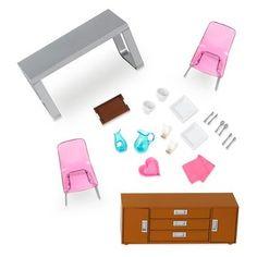 Lori Dollhouse Furniture - Modern Dining Set