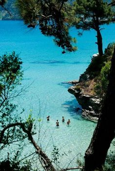 Thassos, Greece - it's amazing how green this island is <3