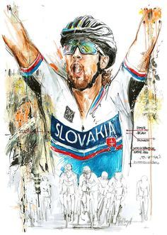 Peter Sagan by Horst Brozy. More