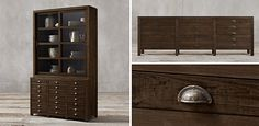 Shelving & Cabinet Collections | Restoration Hardware