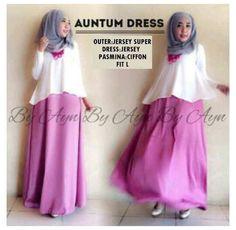 busana muslim jersey AUNTUM DRESS 3 IN 1 harga 95k www.ramailancar.com www.facebook.com/tokobajurajutmurah 0857 2212 6318