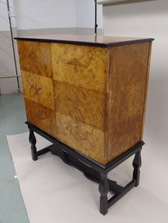 Important 'Swedish Grace' Cabinet by Carl Malmsten for the Waldorf Astoria Hotel | From a unique collection of antique and modern cabinets at https://www.1stdibs.com/furniture/storage-case-pieces/cabinets/