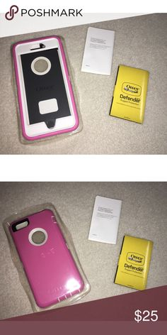 Brand New Otter Box Defender Series 💕 iPhone 6+ Otter Box Defender series. Brand new still in plastic wrap ✨ price is firm. OtterBox Other