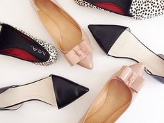 We love a good pointy toe! See 10 of our favorite pairs on the site today. Fashion News, Fashion Beauty, Womens Fashion, Shoes Sneakers, Shoes Heels, Pumps, Dress Up Shoes, Cute Flats, Dress To Impress