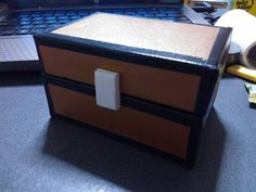 Minecraft chest to make!