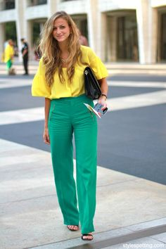 gorgeous color combination.  for summer