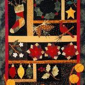 Holiday Sampler Quilt Pattern - via @Craftsy