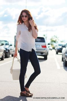 Just a casual shopping outfit. #casual #simple #streetstyle