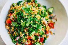 Greek Farro Salad w/