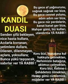 The Most Beautiful Messages of Regaib Kandili - Beautiful Words - Beautiful Words, Most Beautiful, Allah Islam, Islamic Quotes, Ramadan, Messages, Instagram Posts, Places, Tone Words