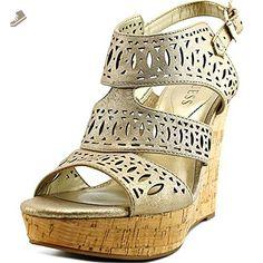 Guess Vannora Women US 8.5 Bronze Wedge Heel - Guess pumps for women (*Amazon Partner-Link)