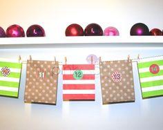 Adventskalender Tüten von PinkFisch