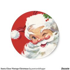 Santa Claus Vintage Christmas