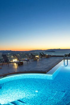 Amazing views of the city of Chania in Golden Key Villas! #crete #greece #chania #summer #vacations #holiday #travel #sea #sun #sand #nature #landscape #island #TheHotelgr #nature #view  #holidays #travelling #instatravel #pool #pinterest #villa #urlaub #ferien #reisen #meerblick #aussicht #sommer #thehotelgr
