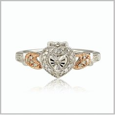 Edwardian Claddagh Ring
