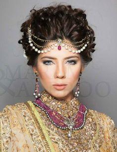 Shafaq Habib Jewelry - Fahad Hussayn Couture - PBCW 2013